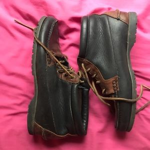 Vintage Women's Leather Timberlands Size 10